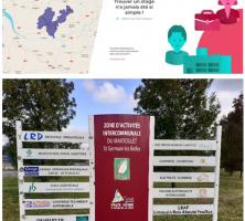 logo Stage-in + accueil zone du Martoulet